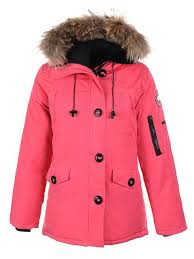 Besten Canada Goose Montebello Parka Rosa Online Shop