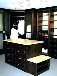 glass top closet island shocking dresser custom walk in ideas with decorating 32