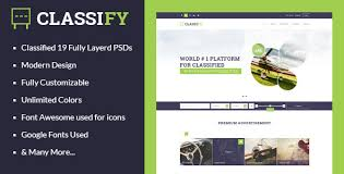 website advertisement template classify classified ads psd template by joinwebs themeforest