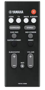 yamaha yas 207. 2 minimalistic style hidden touch-sensitive buttons yamaha yas 207