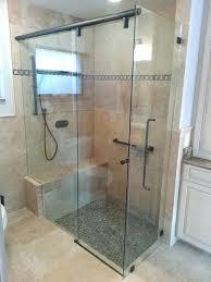 sliding shower doors sliding shower doors with bench 48 inch sliding shower door