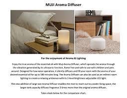 Muji Essential Oil Chart Muji Aroma Diffuser Buy Online In Uae Miscellaneous