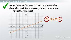 What is a Linear Function? - Definition & Examples - Video ...