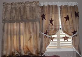 Primitive Curtains For Kitchen Living Room Perfect Primitive Curtains For Living Room Country
