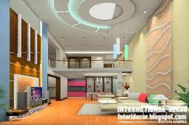 Wonderful Modern Pop False Ceiling Interior For Living Room, Pop False Wall  Part 12