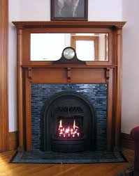 fireplace embers replace radiant insert installed arch smlf gas