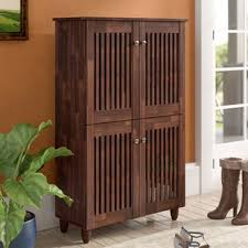 furniture shoe storage. 18-Pair Oak Shoe Storage Cabinet Furniture Shoe Storage P