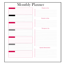 2020 monthly planner template free yearly planner templates 2020 pdf excel word