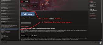 steam community guide guide how start play in dota 2 mods