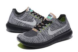 nike running shoes 2016 black. latest nike free flyknit 5.0 2016 men running shoes gray black white w