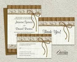 Rustic Wedding Invite Template Orgullolgbt
