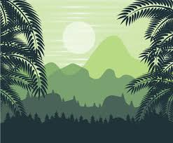 jungle background vector. Delighful Vector Jungle Forest Background Vector And U