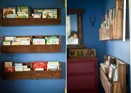 view in gallery wood pallet bookshelf diy