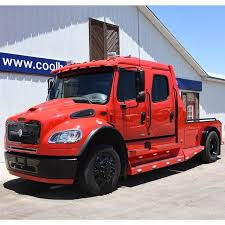 2009 Freightliner Sportchassis M2 RHA-114 Viper Red Crew Cab Truck ...