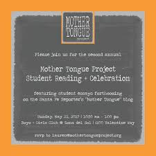 mtp blog mother tongue project 2017 mtp student reading celebration 21 10 30am 1 00pm