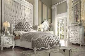 Versailles Pc White Queen Bedroom Set Q St: Full Size ...