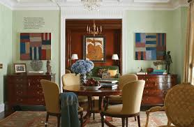 traditional home magazine dining rooms. Oushak-rug-dining-room-in-manhattan-apartment-designed- Traditional Home Magazine Dining Rooms T