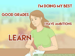 how to get homework done when you don t want to pictures  image titled get homework done when you don t want to step 15