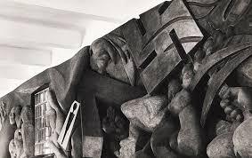 Mercado Abelardo Rodríguez Isamu, siendo joven, realizó esculturas en los  escenarios de Nueva York y en 1935, al consegu… | Noguchi, Isamu noguchi,  Central square
