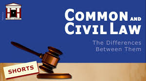 What is the difference between Common and Civil Law? - YouTube