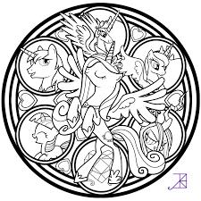 2016 04 09 Pegasus Coloring Page