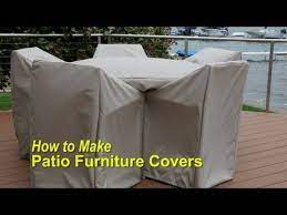how to make patio furniture covers