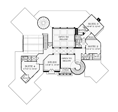 mediterranean style house plan 5 beds 6 baths 9104 sq ft plan House Plans Cost Build Calculator floor plan upper floor plan Average Cost for House Plans