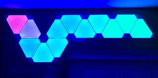 nanoleaf aurora rhythm smarter led light panel kit review