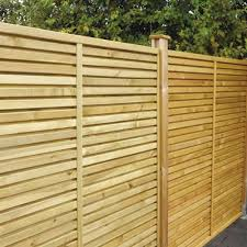 ... Grange Contemporary Vogue Wooden Fence Panels - 6ft ...
