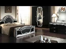 rococo italian classic black silver bedroom set vgacrococo blk from vig furniture black and silver furniture