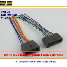 online get cheap ford stereo wiring aliexpress com alibaba group car radio cd player to aftermarket stereo dvd gps wiring harness wire adapter for ford probe ranger thunderbird windstar