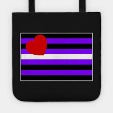 leather woman pride tote