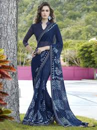 Blue Color Saree Blouse Designs Blue Saree Blouse Designs Rldm