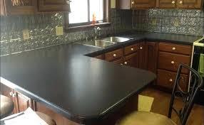 black formica countertops