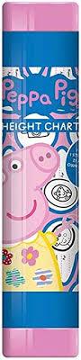 Amazon Com Peppa Pig Childrens Height Chart 160cm Baby