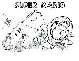 Super Mario Coloring Page 3d Land Pages To Print Momjunction