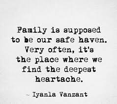 Tired Of Family Drama Quotes Family is supposed to be our safe haven Very often it's the place 6
