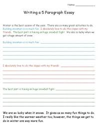 5 Paragraph Essay Examples 5 Paragraph Essay Writing Templates By Melanie Smith Tpt