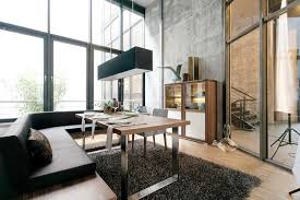 super modern dining room ideas with a black chandelier