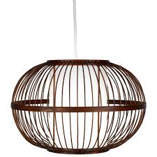 Mandy Bamboo with Inner Diffuser Light Shade (D)300mm   Departments   DIY  at B&Q