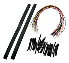 harley davidson wiring harness extension harley la choppers handlebar extension wiring kit for harley 1996 2006 on harley davidson wiring harness extension