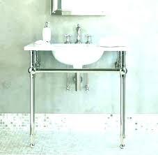 metal vanity legs.  Metal Exciting Bathroom Vanity With Legs Metal  Inside Metal Vanity Legs M