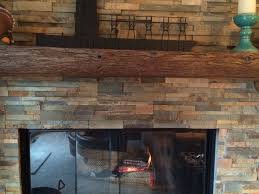 stack stone fireplace. Soot Staining On A Stacked Stone Fireplace Stack I
