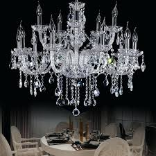 crystal candle chandelier star hotel clear large modern big chandeliers lights villa hanging lamp parlor holder candles