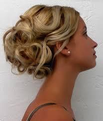 Image Coiffure Mariage Cheveux Mi Long Chignon Boucle Coupe