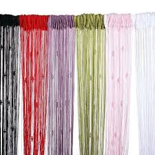 how to make string curtains tassel string curtain fly screen divider room 3 beads decoration purple how to make string curtains