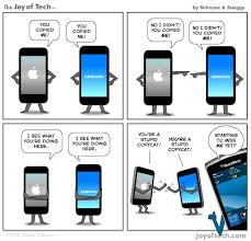 Apple vs Samsung verdict- Funny quotes, Memes, Cartoons, Trolls ...
