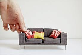 miniatures dollhouse furniture. newyorktimesmodernminiaturedollhousesofa miniatures dollhouse furniture l