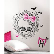 Monster High Bedroom Decorations Popular Monster High Wall Stickers Buy Cheap Monster High Wall