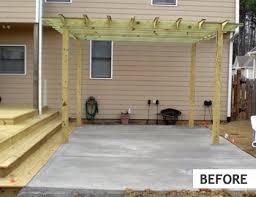 plain concrete patio. Custom Flagstone Patios, Baltimore, County, Maryland, Virginia, Dc After Plain Concrete Patio